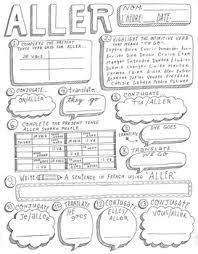 French Verb Chart Faire French Verb Conjugation Worksheets Teachers Pay Teachers