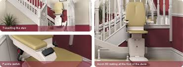 stair lifts Acorn 130 stair lifts are designed for straight staircases