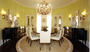 round dining room rugs