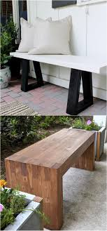 Diy Bench 21 Gorgeous Diy Benches For Every Room A Piece Of Rainbow