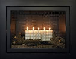 summer candles decorative element
