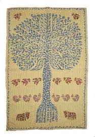 indian cotton tree of life tapestry