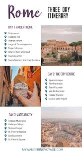 Roman 3 What To See And Do In Rome In Three Days My Wandering Voyage