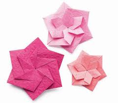 Paper Folded Flower Zen Origami Two Faced Flower Quarto Knows Blog