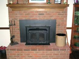 fireplace flue damper parts chimney blog removing a for installed wood insert lg