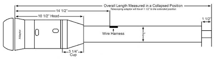 universal 38 1 4 9 bolt tilt telescoping floor shift steering ididit llc 38 1 4 9 bolt tilt telescoping column shift
