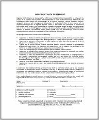 Business Confidentiality Agreement Template - Template : Resume ...