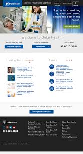 Duke My Chart Login Page Duke Health Competitors Revenue And Employees Owler