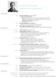 Architecture Resume Examples 2017 Curriculum Vitae Architecture