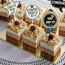 2019 24 Set Graduation Cupcake Toppers Congrats Grads Cake Diy