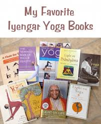 these are the iyengar yoga books that i most monly use