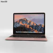 Apple MacBook (2017) Rose Gold 3D-Modell - Elektronik on Hum3D