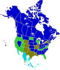 States Age Of Consent Chart Ages Of Consent In North America Wikipedia