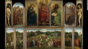 thought to be one of the most famous panel paintings in the world the ghent