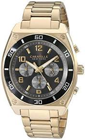Caravelle New York Men's 45A111 Analog Display ... - Amazon.com