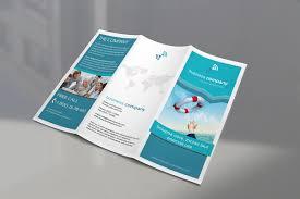 tri fold brochures trifold brochure mockup bundle mockupworld