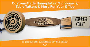 Office Name Plate Template Office Door Name Plates Template Customised Name Plates Signages And