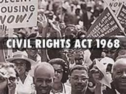 「the Civil Rights Act of 1968」の画像検索結果