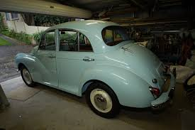 a minor matter of patience a 30 year morris minor restoration story trim the front drivers side suspension change over fresh fuel and tune that s about it the list is literally down to half a dozen item