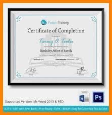 Sample Of Certificate Of Ojt Completion Dtk Templates