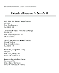 References Format For Resume Classy Resume With References Template Free Letter Templates Online