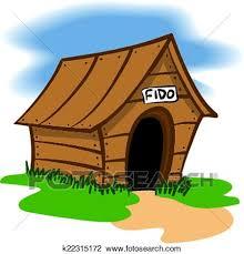 dog house clipart. Fine Clipart An Illustration Of A Wooden Dog House For House Clipart D