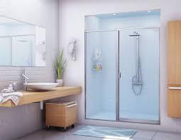 image of cool bath shower doors glass