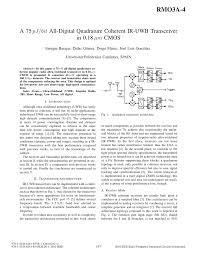 The Design Of Cmos Radio Frequency Integrated Circuits Lee Pdf Pdf A 75 Pj Bit All Digital Quadrature Coherent Ir Uwb