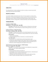 Resume Objective Statement Examples Customer Service Supply Clerk