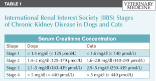Kidney Creatinine Chart Laboratory Evaluation Of Kidney Disease