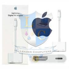 lightning to hdmi digital av adapter md826zm a for iphone 5 6 7