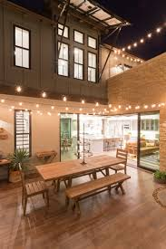 Outdoor garden lighting ideas Solar Lights Outdoor Lighting Ideas To Inspire Your Spring Backyard Makeover String Lighting String Lights Contemporist Outdoor Lighting Ideas To Inspire Your Spring Backyard Makeover