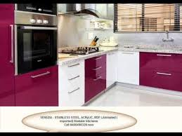 Small Picture STAINLESS STEEL MODULAR KITCHEN 09400490326 call KERALA YouTube