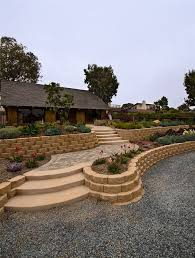 Backyard Retaining Wall Designs Enchanting Front Yard Retaining Walls Block Succulents Retaining And