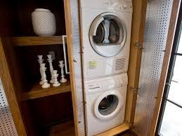 Washer Dryer Shelf 7 Stylish Laundry Room Decor Ideas Hgtvs Decorating Design