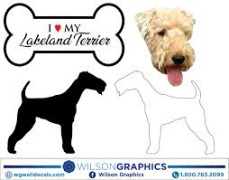 Lakeland Terrier - Dog Breed Decals by ...