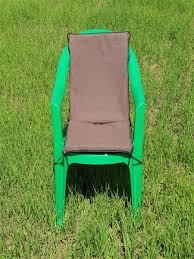 <b>Мягкая накидка на</b> пластиковый стул (коричневый), Н-002 ...