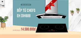 khuyến mãi tháng 8 - Bếp điện từ Chefs