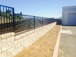 photo of corona landscape corona ca united states splitface grey block walls