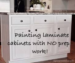 A Year In Review Of How I Painted My Laminate Cabinets