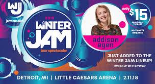 winter jam flyer 2018 winter jam 2018 tour spectacular 313 presents