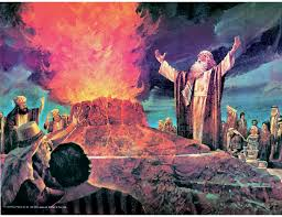 Image result for fire from heaven IN THE BIBLE