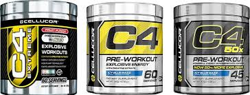 take cellucor c4 and other pre workouts