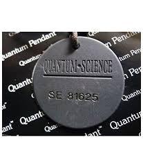 new scalar energy quantum science pendant anion rustic