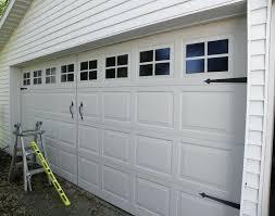 faux garage door painted faux garage windows looks just like a carriage garage door add hardware faux garage door