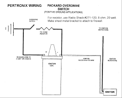 pertronix overdrive wiring gif i got a 6 volt positive ground unit from bill cathcart for the champ 6 engine pertronix sent me a wiring diagram