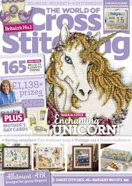 Sue Page Cross Stitch Designer The World Of Cross Stitching March 2019 Issue 278 By Noor