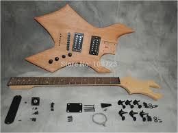 flying v diy guitar kit diy electric guitar kit mahogany maple neck rosewood