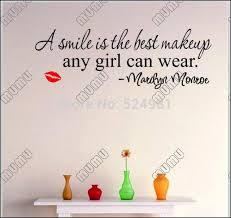 Ein Lächeln Ist Die Bestelip Englisch Sprüche Wandaufkleber In Ein