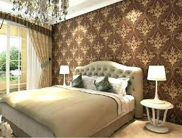 traditional master bedroom interior design. Master Bedroom Wallpaper Accent Wall Designs For . Traditional Interior Design L